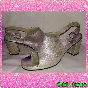 Vintage Funky disco chunky heels